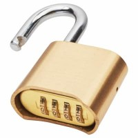 50mm Brass Combination Padlock