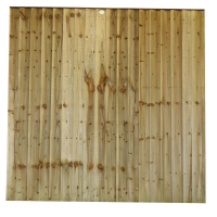 Closeboard Panel / Feather Edge Panel - Pressure treated green