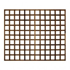 Trellis 1.8m wide - various heights - Brown dipped