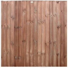 Closeboard Panel / Feather Edge Panel - Pressure treated brown