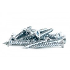 "Gauge 10 x 1.5"" Countersunk Head BZP Screws (approx 200 per box)"