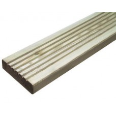 145mm x 32mm x 4.8m Long Prepared Grooved Decking