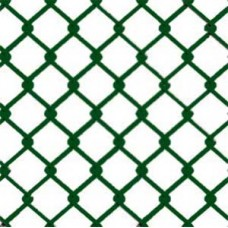 25m x 2.24mm / 3.15mm Green PVC Coated Chainlink Fence