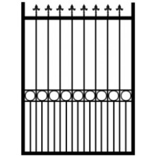 Kent / Essex 1000mm Wide Pedestrian Metal Gate