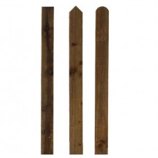 Picket Fencing Pale / Slats: Round Top, Pointed Top, Flat Top