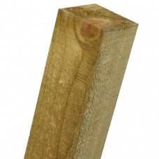 75mm x 75mm Softwood Fence Post Flat Top