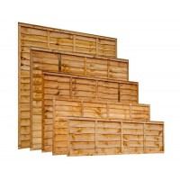 Standard Lap Panel / Waney Edge Panel / Larch Lap Panel