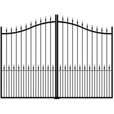 Sussex Arched Top Gates w/ Drop Forged Railheads