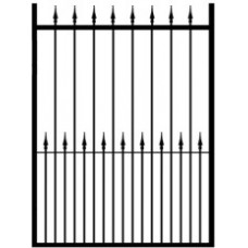 Sussex 1000mm Wide Pedestrian Metal Gate